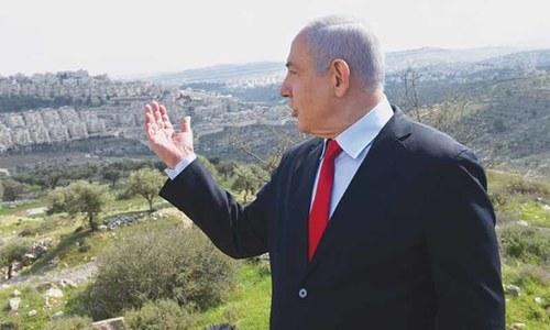 Netanyahu plans new settler homes ahead of elections