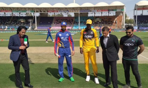 PSL 2020: Karachi Kings 40-1 at the end of five overs