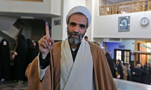 ایران میں پارلیمانی انتخابات کیلئے رائے شماری جاری