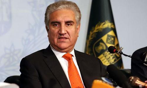 افغان امن عمل: پاکستان کی موجودگی میں معاہدے پر دستخط ہوں گے، وزیر خارجہ