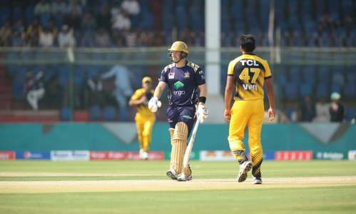 PSL 2020: Quetta Gladiators 33-1 at the end of 5 overs against Peshawar Zalmi