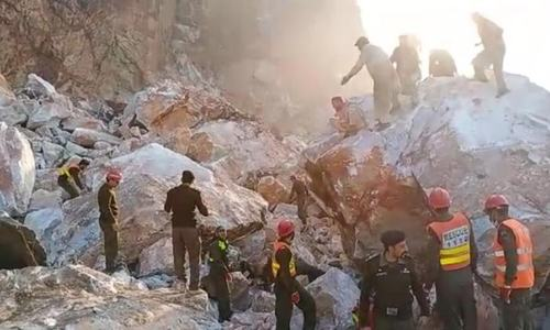 At least 9 labourers killed in marble mine slide in KP's Buner