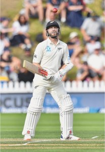 Williamson, Taylor ensure NZ lead in Test
