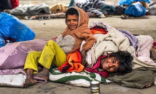 Shelterless in Karachi