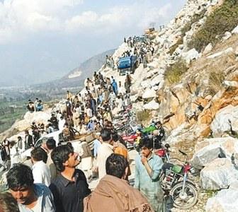 Seven die as marble mine collapses in Buner