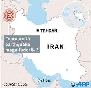 Earthquake in Turkey-Iran border region kills nine,  injures over 100