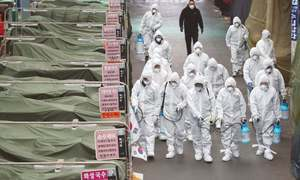 South Korea on frontline as coronavirus spreads