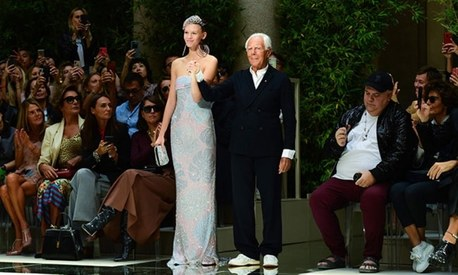 Armani showcases new collection behind closed doors due to coronavirus fears