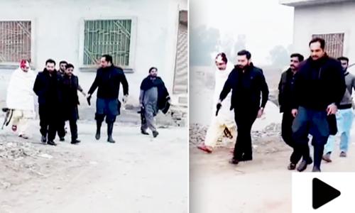فیصل آباد کے رکن پنجاب اسمبلی کی ٹک ٹاک ویڈیو وائرل