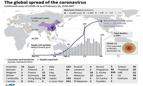 Iran denies coronavirus  cover-up as death toll  rises to 12