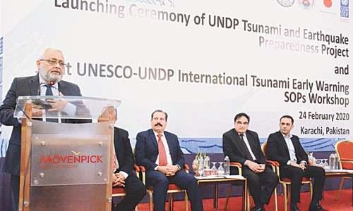 UNDP project on tsunami preparedness launched
