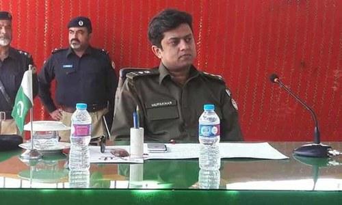 پولیس نے ایس ایس پی مفخر عدیل کیس میں ملزم کی گرفتاری کی تردید کردی