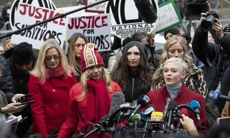 Weinstein accusers call rape conviction a step forward in 'collective healing'