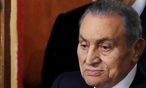 Egypt's ousted president Hosni Mubarak dies: state TV