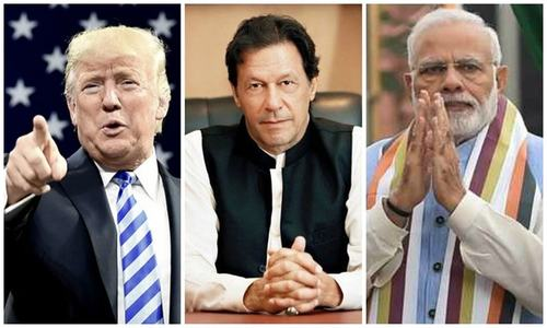 In New Delhi, Trump reiterates offer to mediate on Kashmir