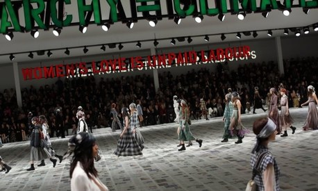 Dior is selling feminism on the ramp. But should we be buying it?