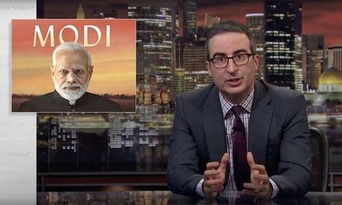 Is John Oliver's latest episode blocked in India for slamming Modi and BJP?