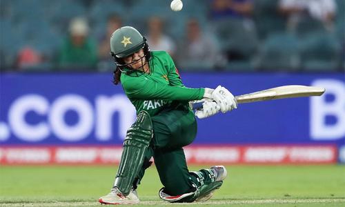 ٹی20 ورلڈ کپ میں پاکستانی ویمن ٹیم کا فاتحانہ انداز میں آغاز