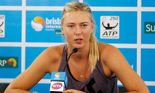 ٹینس اسٹار ماریہ شیراپووا  نے ریٹارئرمنٹ کا اعلان کردیا