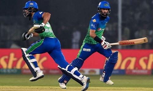ملتان سلطانز نے  پشاور زلمی کو 6 وکٹوں سے شکست دے دی