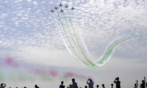 Thunder in the sky: PAF puts up impressive show to mark 'Surprise Day'