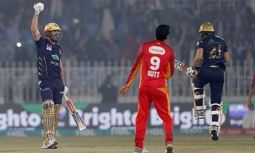 Cutting stars as Quetta Gladiators beat Islamabad United by 5 wickets in PSL thriller