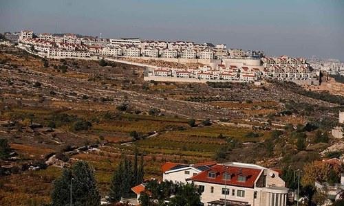 اسرائیل نے انتخابات سے 4 روز قبل نئی آبادکاریاں منظور کرلیں