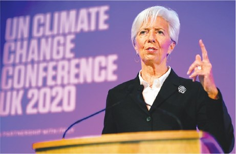 Banks must step up climate risk disclosures: Lagarde