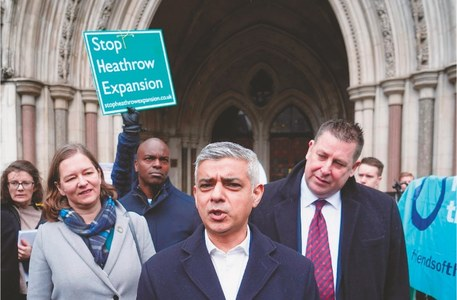 Climate activists win appeal against Heathrow's expansion