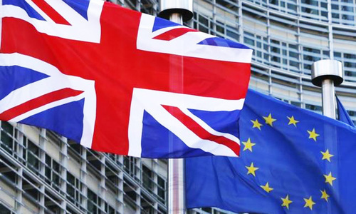 Britain sets terms for trade talks with EU
