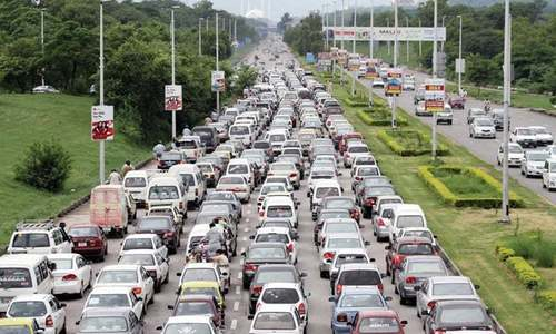 Traffic in a disarray as PSL matches begin