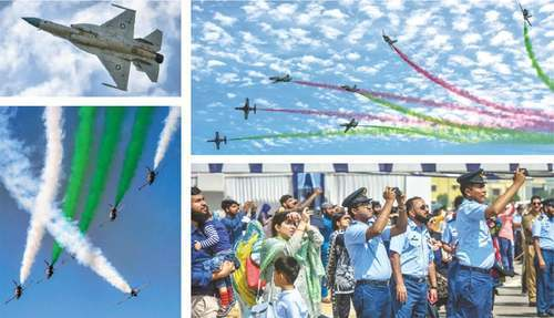 PAF jets fly high over Seaview to mark Indian misadventure