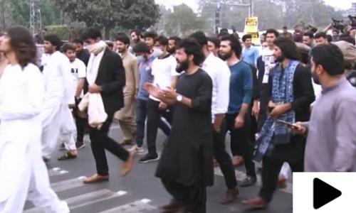 پنجاب کی بڑی جامعہ ایک بار پھر میدان جنگ بن گئی