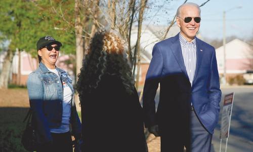 Biden seeks decisive South Carolina win to revive presidential bid