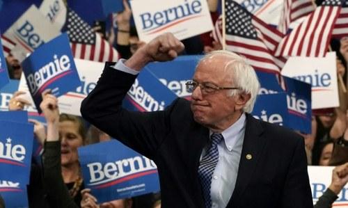Footprints: Bernie barrels towards Super Tuesday