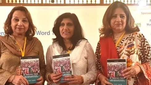 Atiqa Odho and Fouzia Saeed discuss women empowerment at KLF Day 2