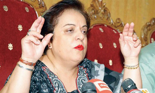 Shireen Mazari condemns 'calls by political leaders to forcibly stop' Aurat March