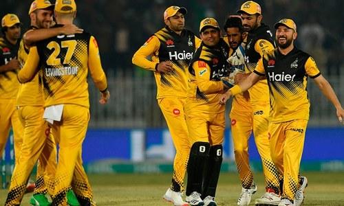 پشاور زلمی نے کوئٹہ گلیڈی ایٹرز کو 30 رنز سے شکست دے دی