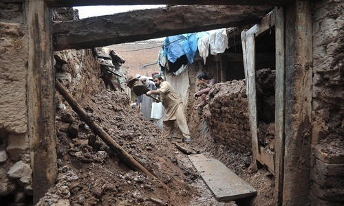 17 killed as heavy rains batter Khyber Pakhtunkwa