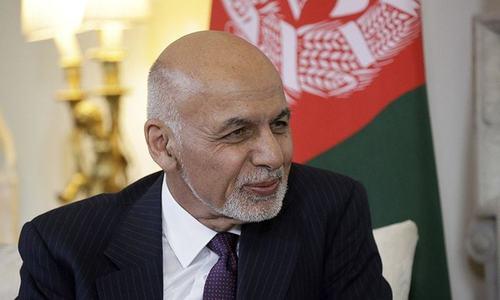 Rival presidential ceremonies jeopardise talks, say Taliban