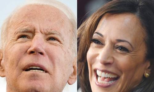 Biden wins endorsement from Harris