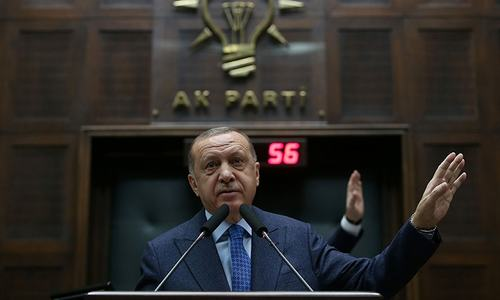 Turkey's Erdogan compares Greek actions at border to Nazis