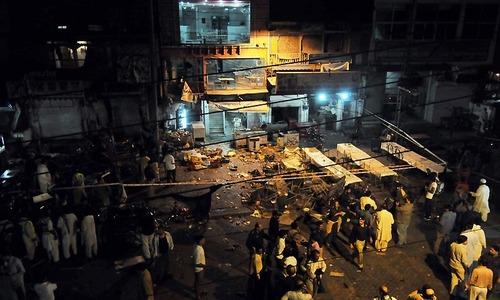 Blast leaves seven injured in Rawalpindi