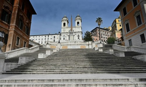 Some Rome churches reopen after angry pope steps in