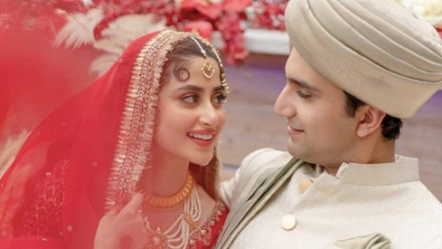 Sajal Aly and Ahad Raza Mir tied the knot in Abu Dhabi