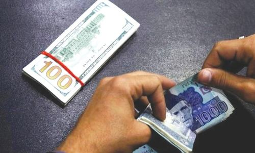 Rupee falls to 158.6 against dollar in interbank