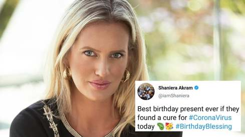 All Shaniera Akram wants for her birthday this year is a coronavirus cure