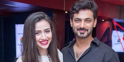 Zahid Ahmed, Sana Javed talk about connection in times of self-isolation
