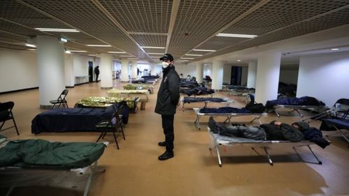 Cannes Film Festival venue provides shelter to homeless people as virus spreads