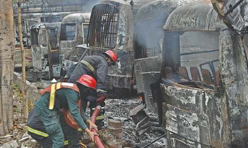 200 vehicles burnt: LPG leakage causes blast, inferno at petrol pump in Lahore, leaving one dead